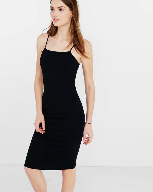 Stretch Cotton Dress Slip