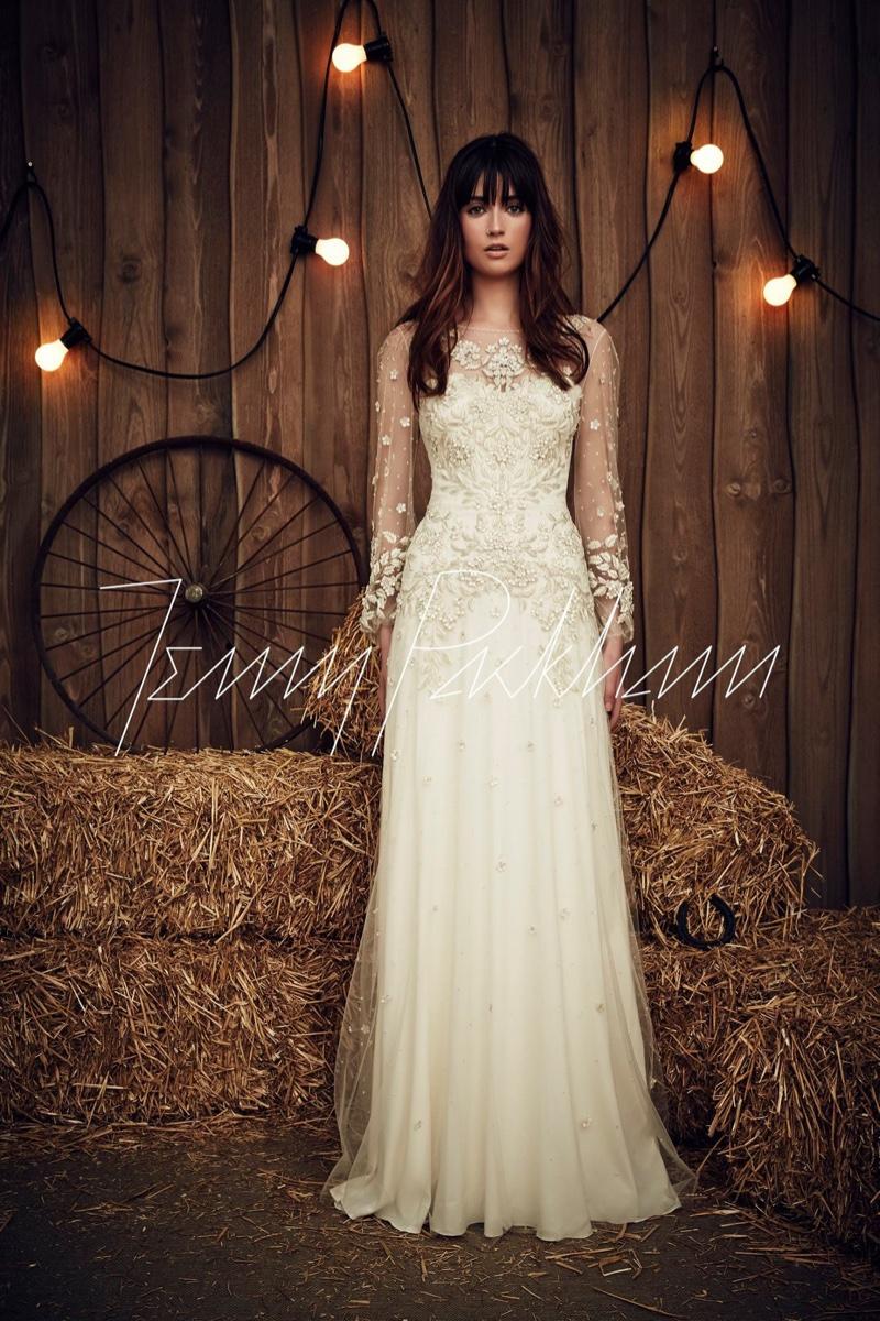 Country Western Wedding Dress 19 Popular Jenny Packham Bridal Spring