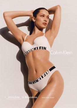 Bella Hadid for Calvin Klein Fall/Winter 2016 Campaign
