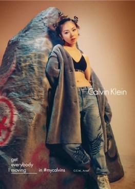 G.E.M. for Calvin Klein Fall/Winter 2016 Campaign