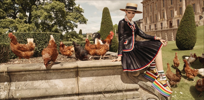 Gucci cruise 2017 advertising campaign, Gucci Goes Totally British with Cruise, Gucci, British with Cruise, Cruise 2017 Ads, Cruise 2017, Vanessa Redgrave2017 campaign, Westminister Abbey, Glen Luchford, Hannelore Knuts, Ellen de Weer, Sophia Friesen, Nika Cole, Dwight Hoogendijk, Nick Fortna, Conner Rowson, Victor Kusma, Chatsworth House