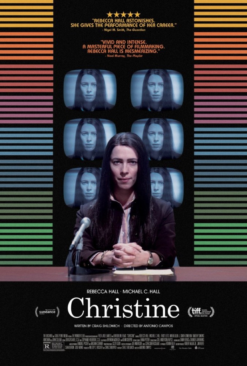 Image result for christine movie poster 2016