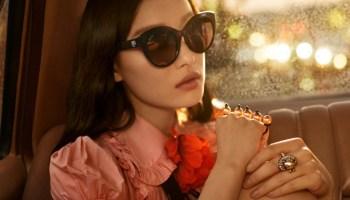946bdde8ab5ec Julia Frauche for Gucci Eyewear Spring 2012 Campaign by David ...