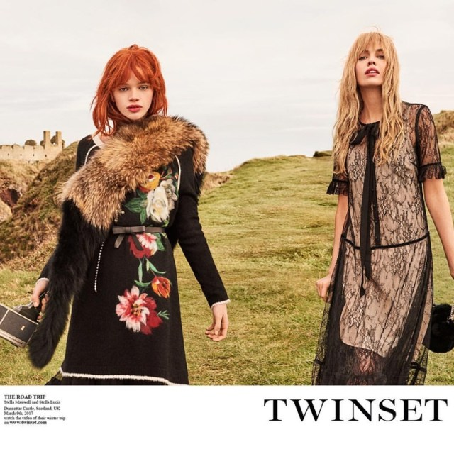 Twinset captures its fall 2017 campaign in Scotland