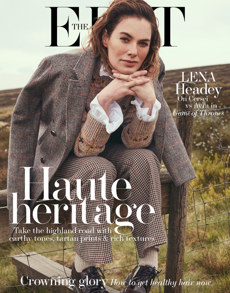Lena Headey on The Edit July 6th, 2017 Cover