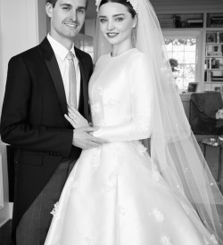 Ashlee simpson style crop top wedding dress miranda kerrs dior wedding dress is an absolute dream see the vogue photos junglespirit Images