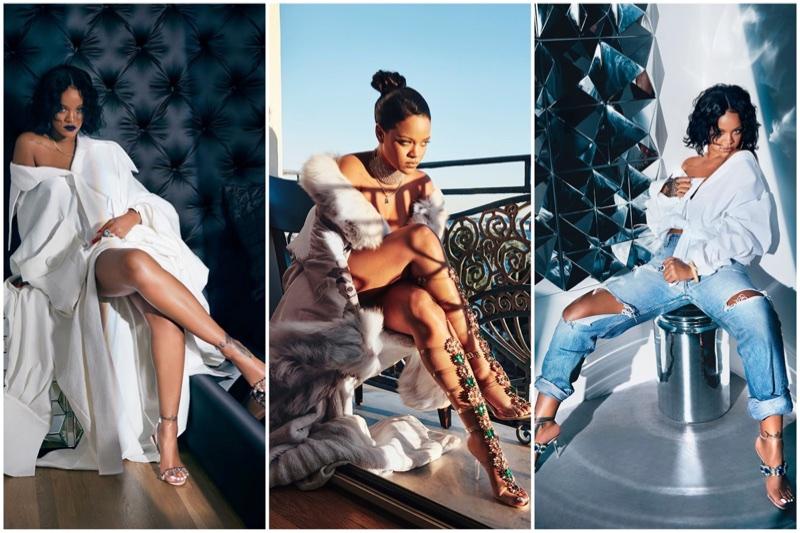 Rihanna x Manolo Blahnik 2017 shoe collaboration