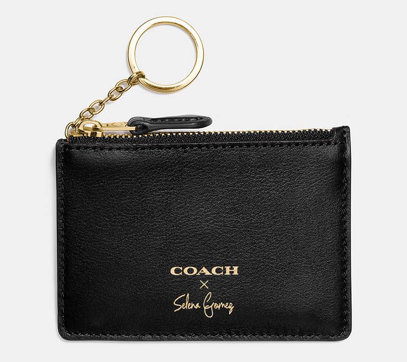 Coach x Selena Gomez Selena Mini Skinny ID Case $55