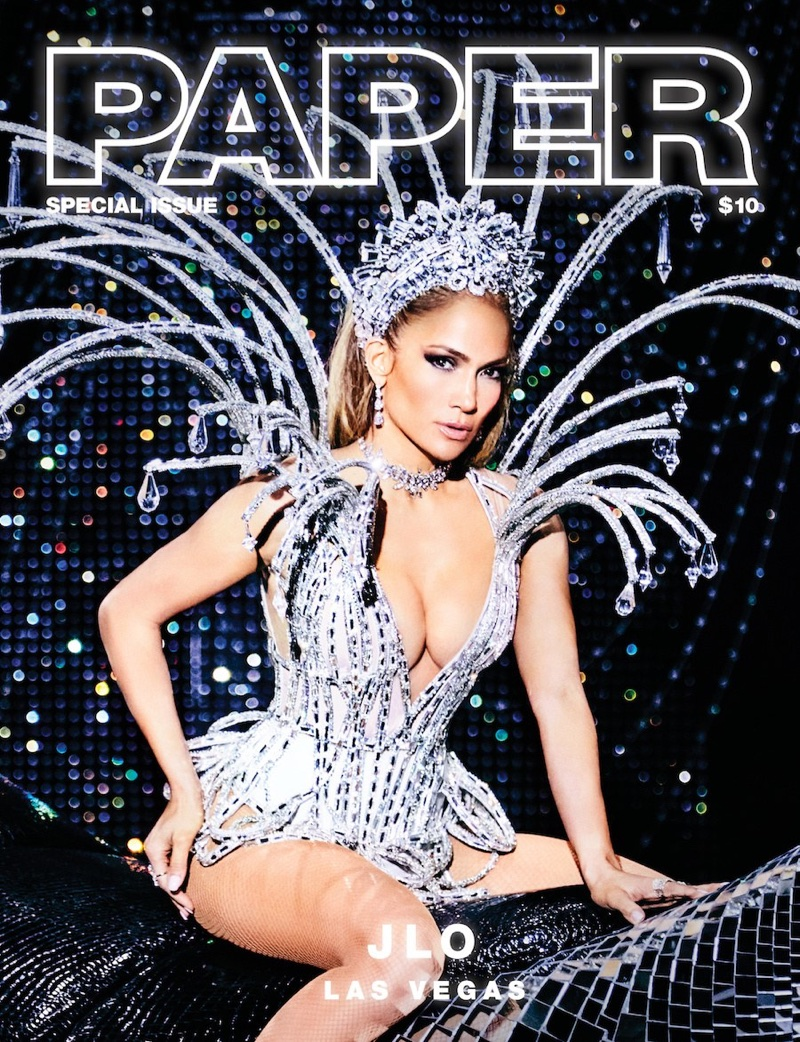Jennifer Lopez on Paper Magazine Special Issue 2017 Cover