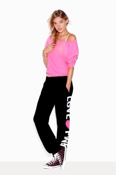 Elsa Hosk fronts Victoria's Secret Pink campaign (2011)