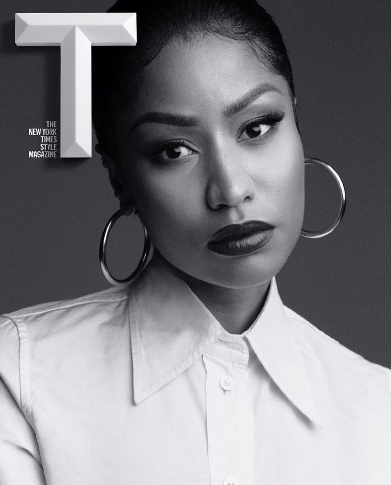 Nicki Minaj on T Magazine October 22, 2017