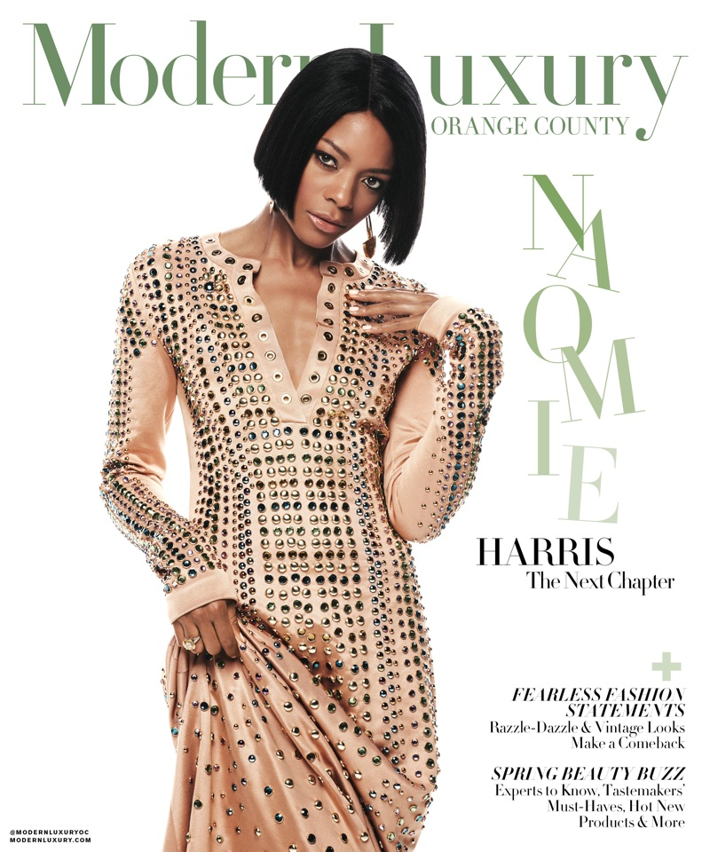 Naomie Harris on Modern Luxury Orange County March 2018 Cover