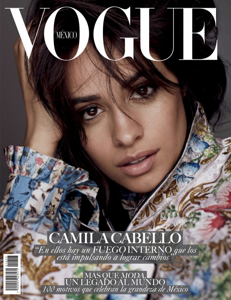 Camila Cabello on Vogue Mexico March 2018 Cover