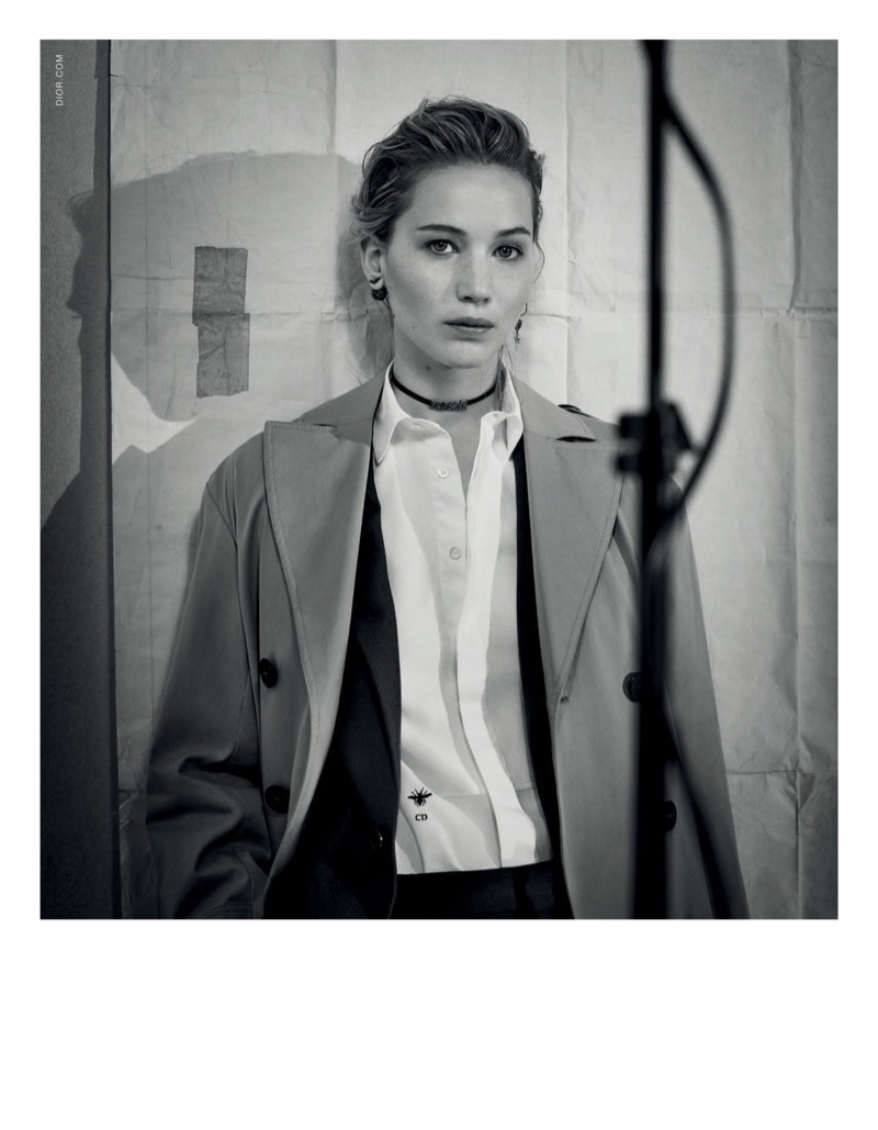 Dior taps actress Jennifer Lawrence for its pre-fall 2018 campaign