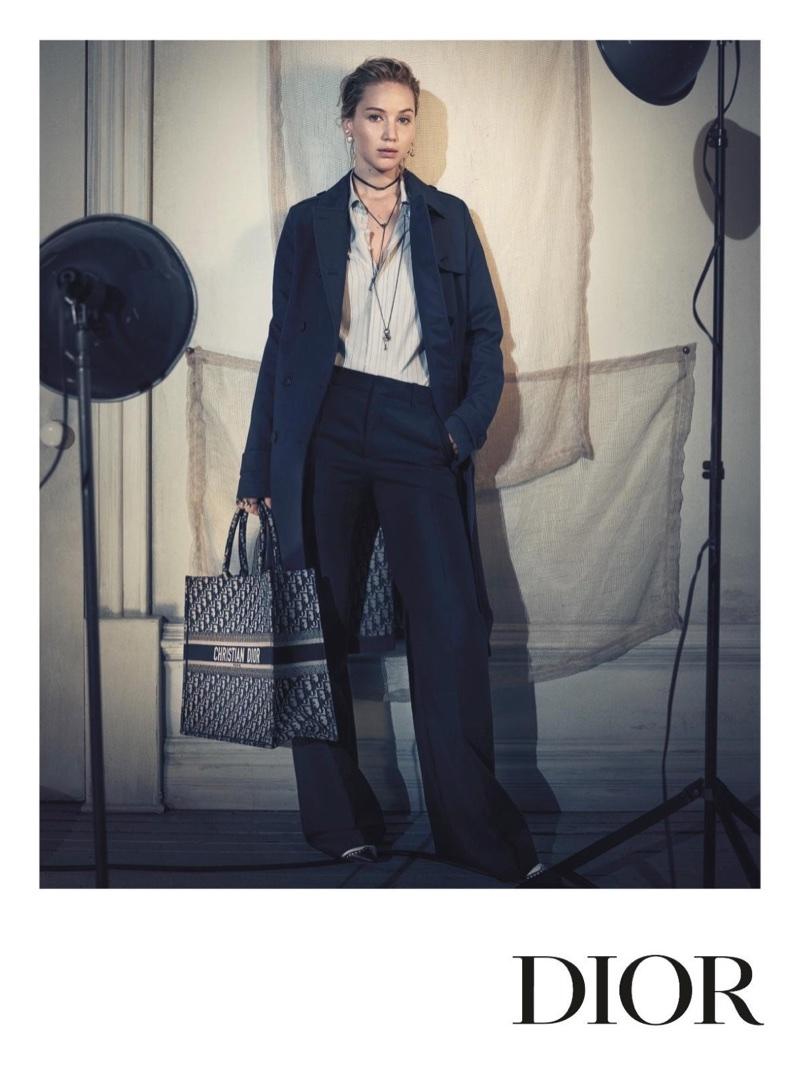 Jennifer Lawrence stars in Dior's pre-fall 2018 campaign