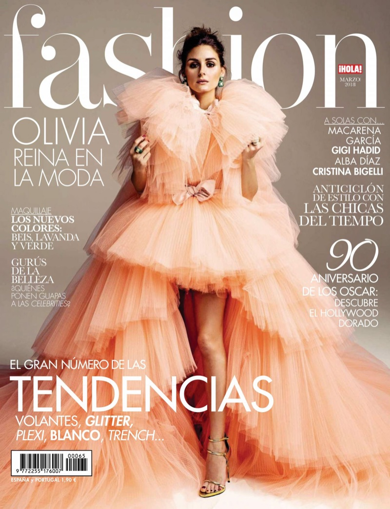 Olivia Palermo on Hola! Fashion March 2018 Cover