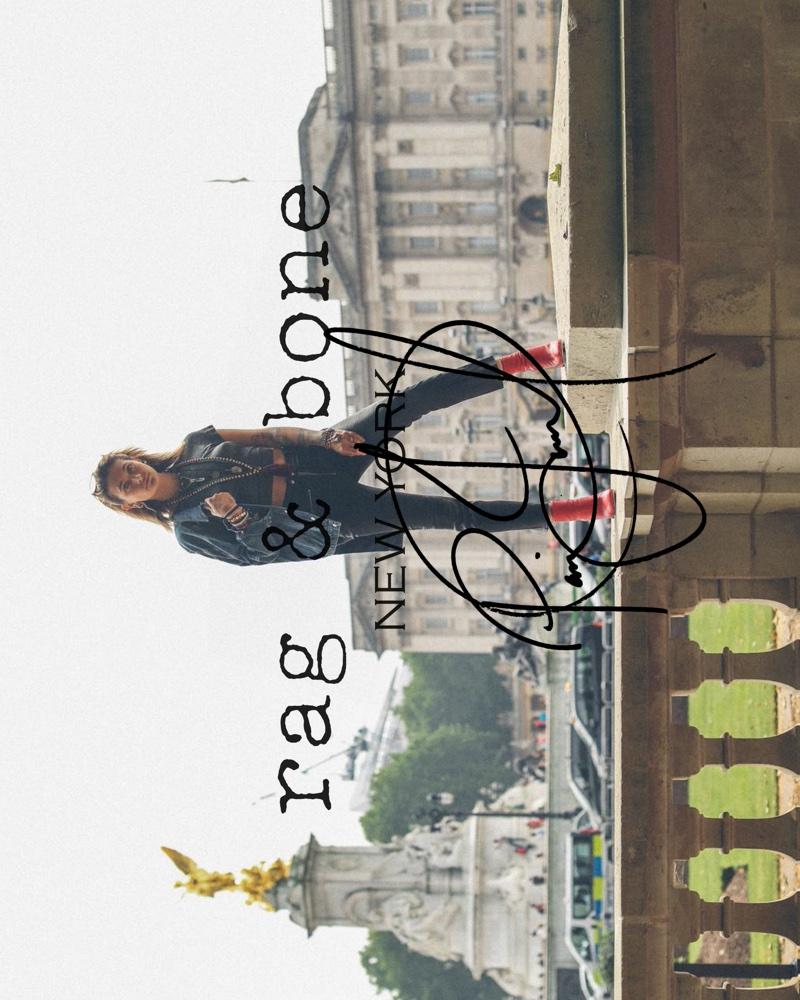 Rag & Bone features Paris Jackson in latest DIY Project