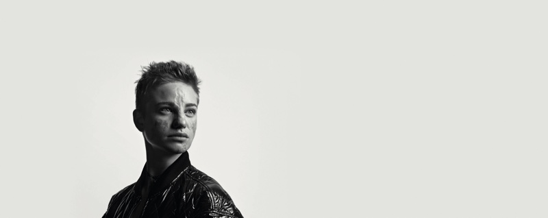 Paralympic fencer Bebe Vio in Moncler BEYOND campaign