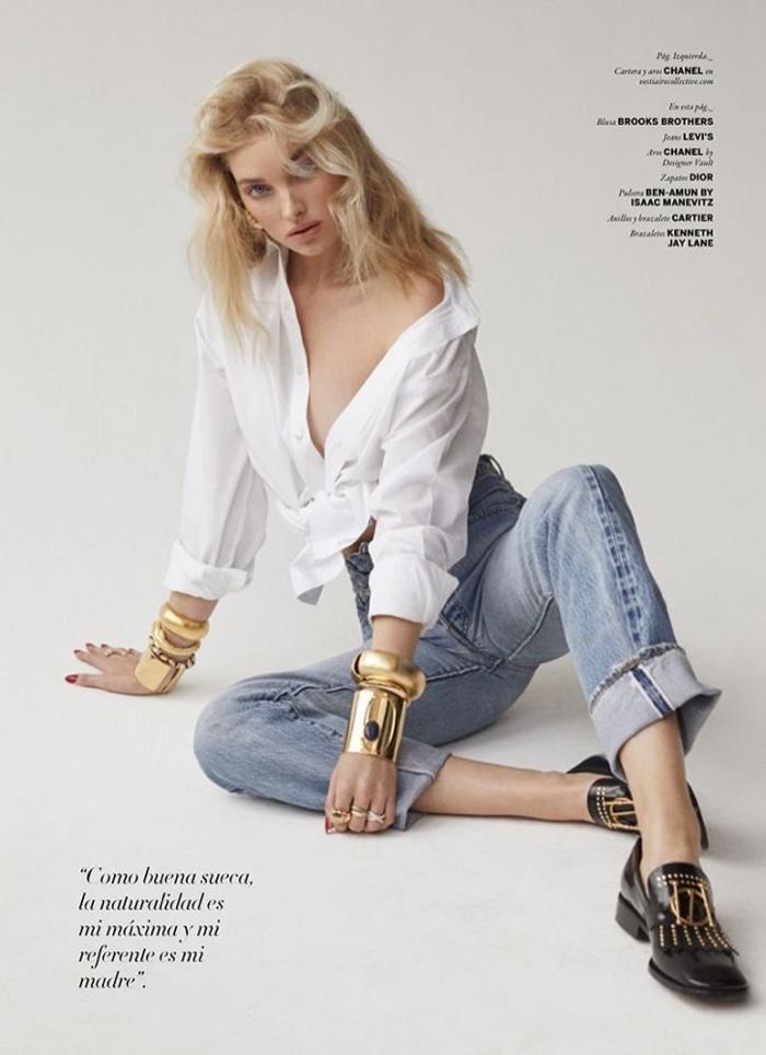 Fall Turkey Wallpaper Elsa Hosk Issue Magazine 2018 Cover Sexy Photoshoot