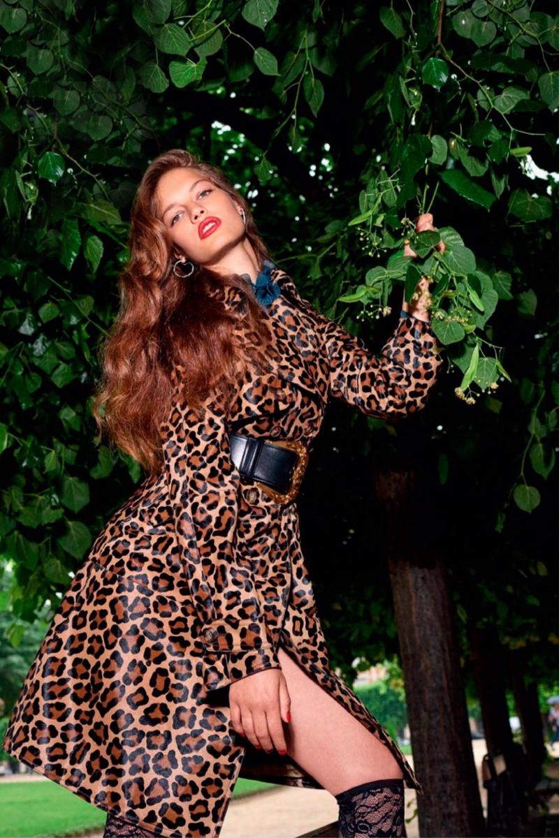 Faretta  Vogue Russia  2018 Cover  Animal Print