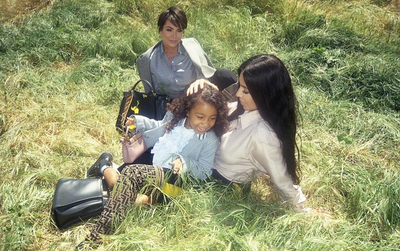 Fendi taps Kim Kardashian, North West and Kris Jenner for #MeandMyPeekaboo campaign
