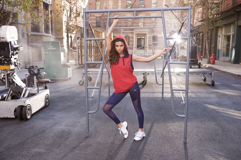 Singer Selena Gomez stars in PUMA Amp XT advertising campaign
