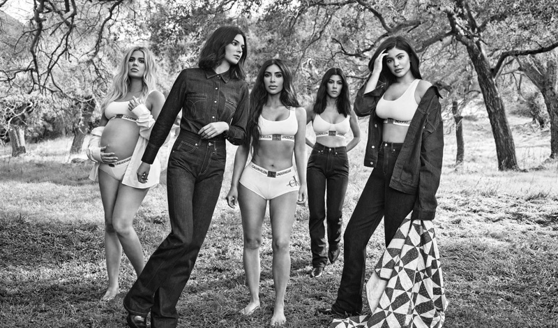 Calvin Klein enlists the Kardashian and Jenner sisters for fall 2018 campaign