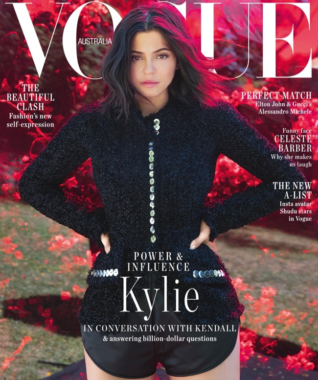 Kylie Jenner on Vogue Australia September 2018 Cover