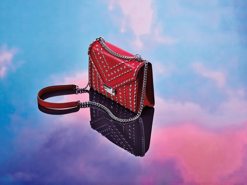 Michael Kors x Yang Mi Whitney handbag in red