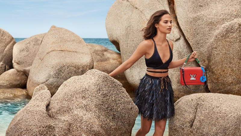 Louis Vuitton unveils cruise 2019 campaign with Alicia Vikander