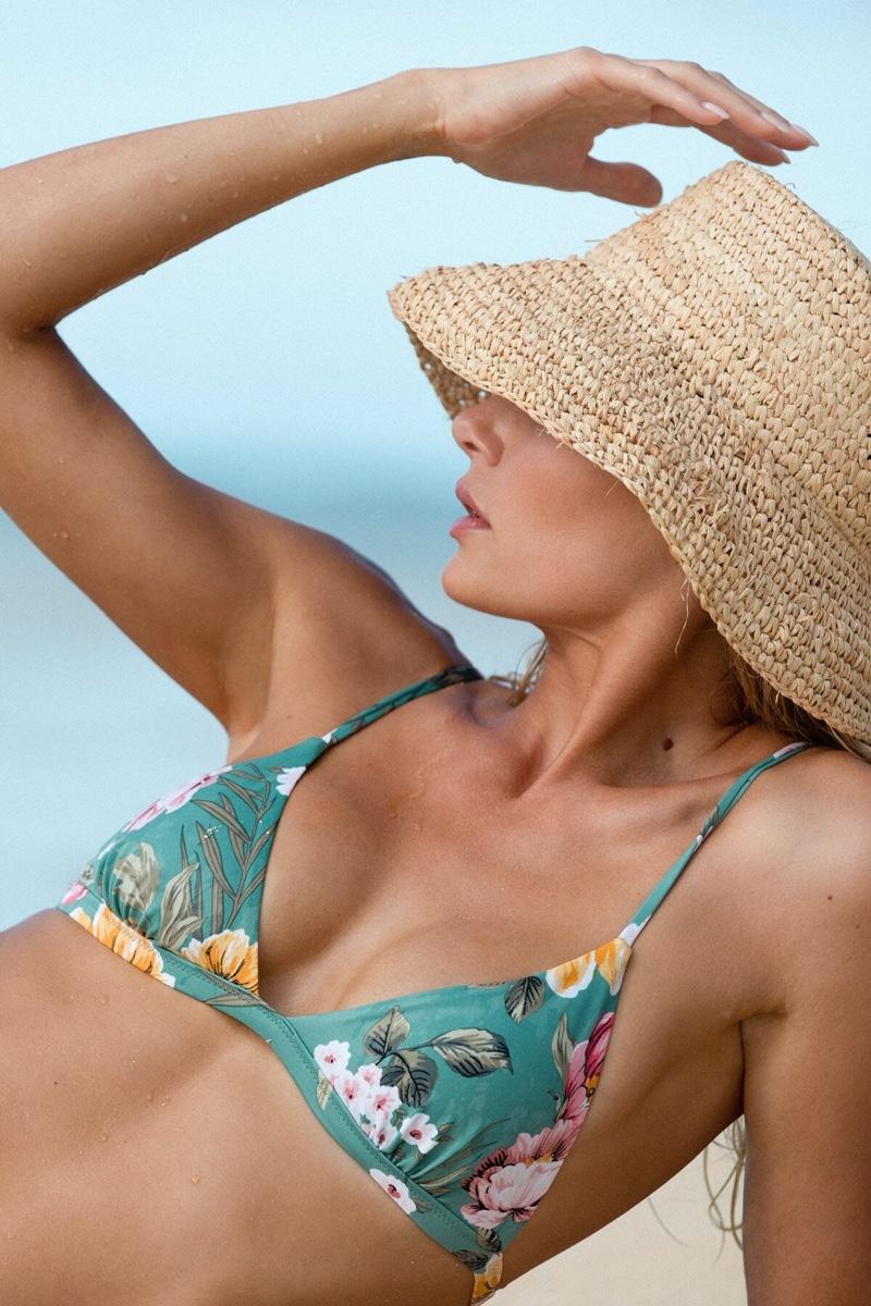 Tori Praver Wows in Namesake Swimwear Designs