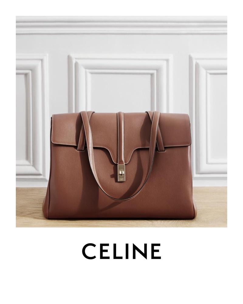 Anna Francesca Takes the Spotlight in Celine Winter 2020 Campaign
