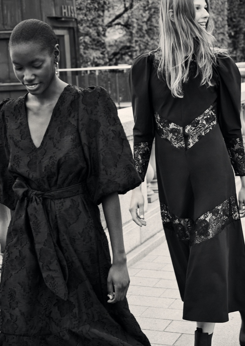 Sara, Amie & Adela Wear Recycled Looks in H&M Fall 2020 Campaign