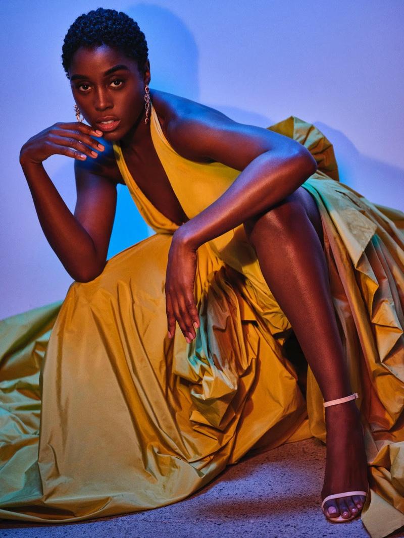 'No Time to Die' Star Lashana Lynch Poses for Max Magazine
