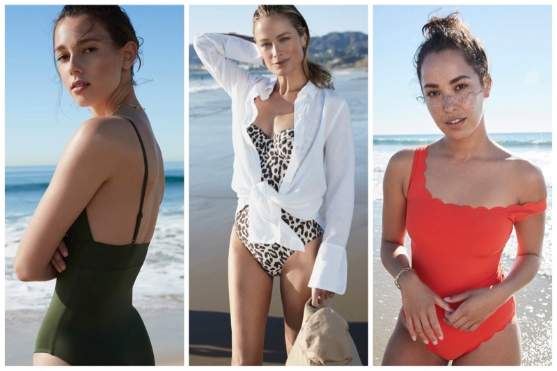 J. Crew swimsuit styles