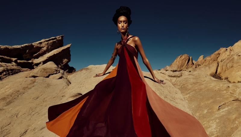 Mona Tougaard fronts Zara spring-summer 2021 campaign.