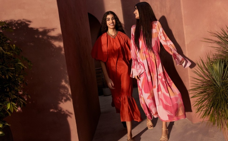 H&M Embraces Fluid Shapes With Spring Statement Styles