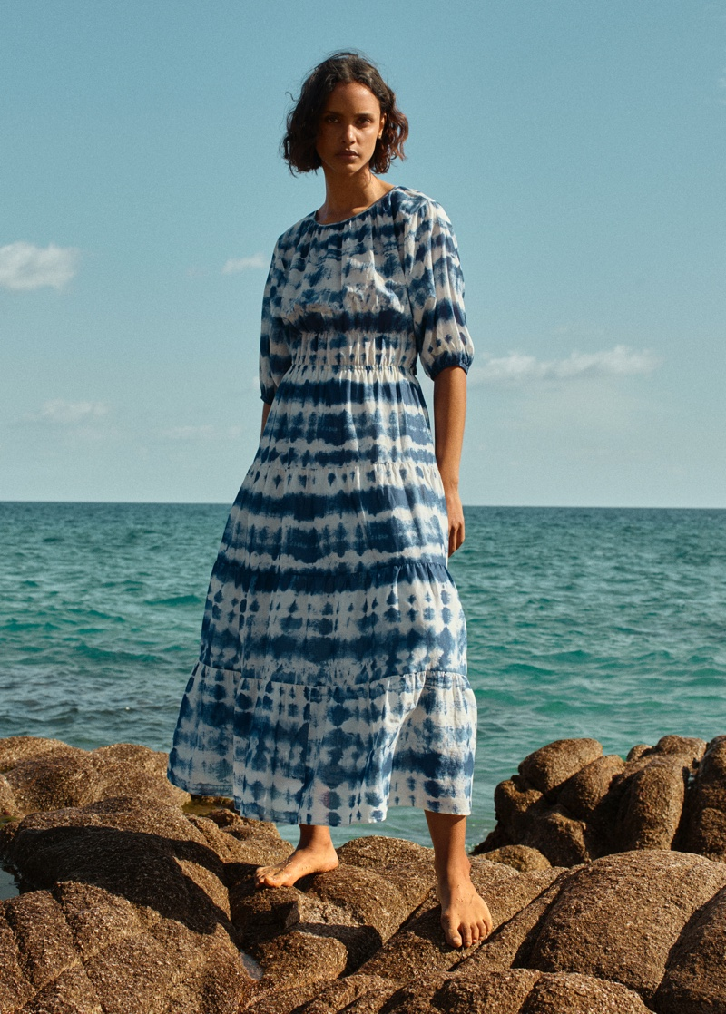 Mango Committed Effortless spring-summer 2021 collection.