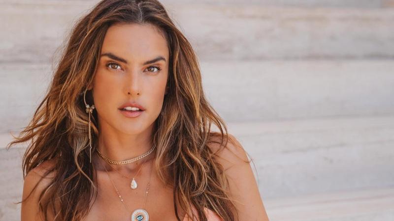 Alessandra Ambrosio Enchants in Gal Floripa 'Ethereal' Bikini