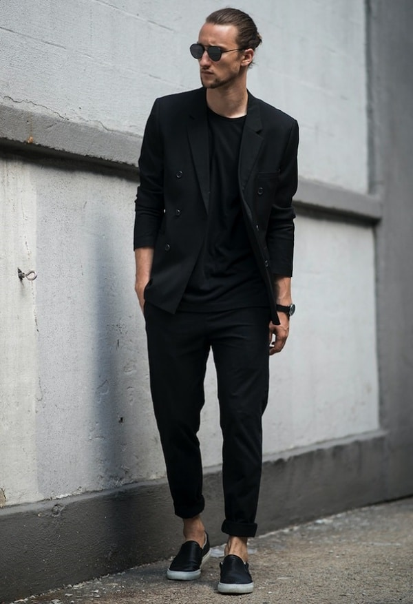 pix Black Style Formal Black Style Shirts For Men super stylish all black outfits for men