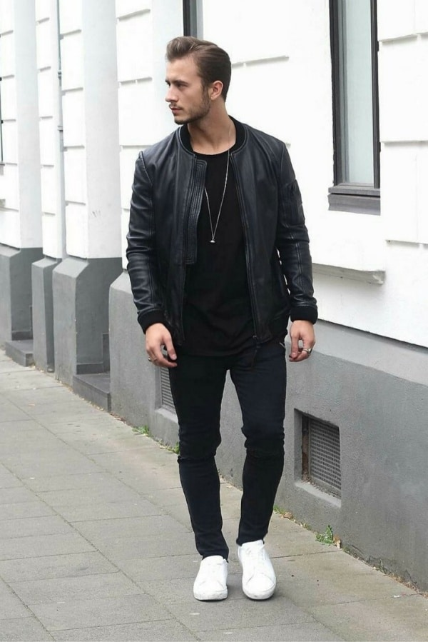 pic Black Style Formal Black Style Shirts For Men super stylish all black outfits for men