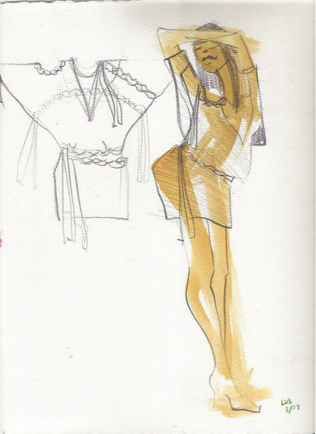 10 ways to enjoy pencil for fashion design and illustration