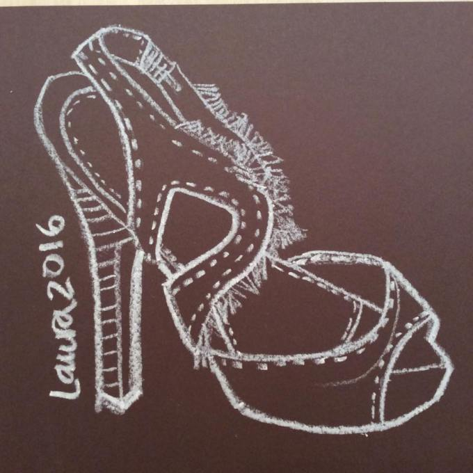 Sketching Fashion Accessories- Shoe Design- Fashion Illustrator Laura Volpintesta Steve Madden Girl Shoes