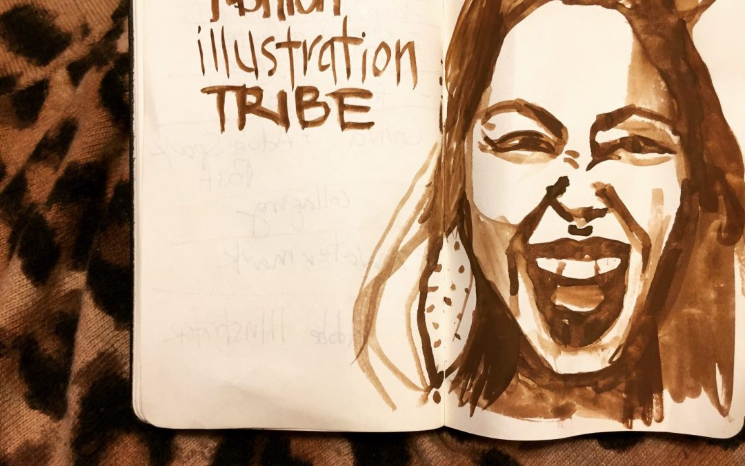 Sketchbook Fashion Art Challenge- grab your journal!
