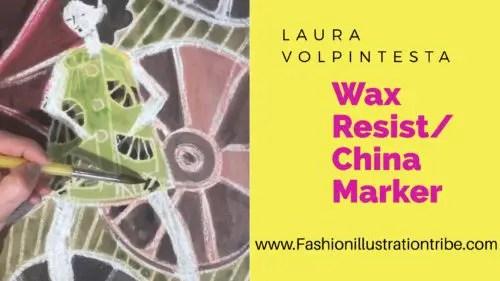 China Marker for Fashion Sketching