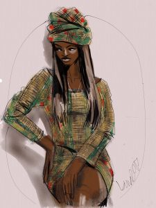 fashion illustration apps by Laura Volpintesta