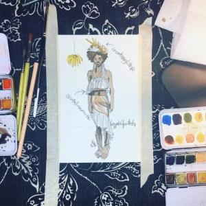Art Supplies For Fashion Illustration Fashion Students Designers Illustrators