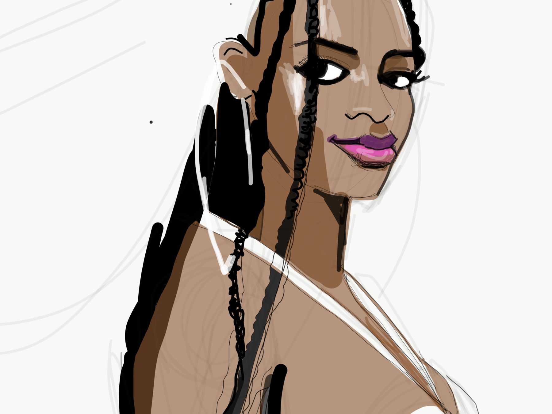 Drawing Fashion Faces Fashionillustrationtribe