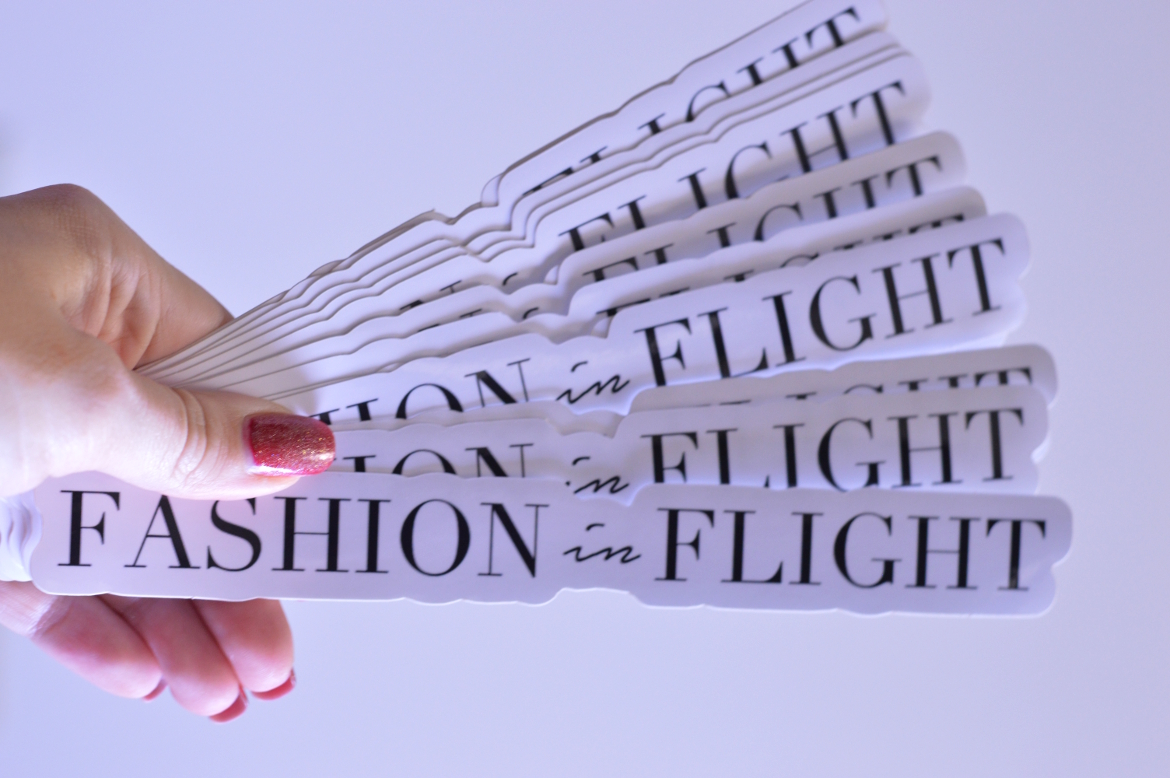 Get adorable custom stickers with stickerapp by fashion in flight