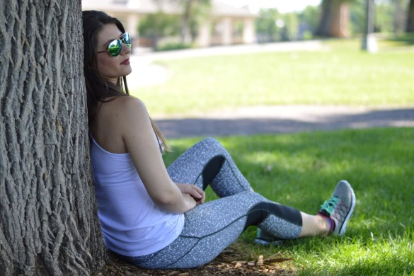 WHERE TO FIND INEXPENSIVE WORKOUT GEAR by Fashion in Flight ross workout tank top nike printed leggings tommy hilfiger sneakers tahari sunglasses cheap fitness workout fashion beauty lifestyle blog by ashleigh jean lopes workout wednesday